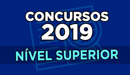 Concursos 2019: saiba quais editais vão sair para o nível superior