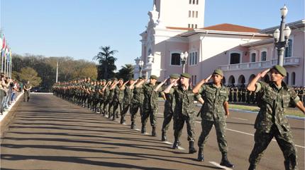 Exército realiza concursos para temporários (Foto: Espcex)