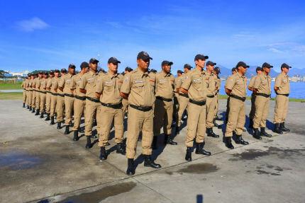 Niterói realiza concurso para a Guarda Municipal (Foto: Ascom)