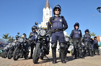 Guarda de São José dos Pinhais (Foto: Silvio Ramos/PMSJP)