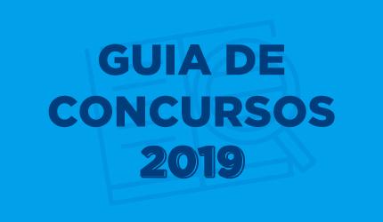 Lista dos concursos 2019 Folha Dirigida