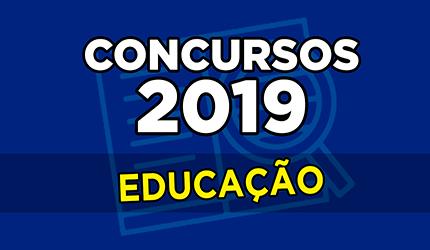 Concursos 2019  confira editais previstos para área de Educação ... b0731b4a42b41