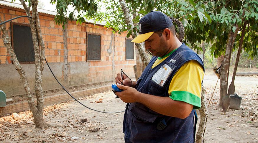 IBGE prepara novos concursos (Foto: Licia Rubinstein/Agência IBGE Notícias)