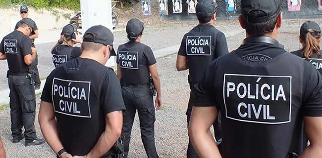 Policiais civis de goiás perfilados