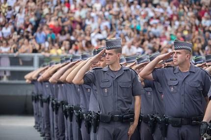 PM-SP já soma mais de 30 mil inscritos em concurso para soldado (Foto: Divulgação/Governo-SP)