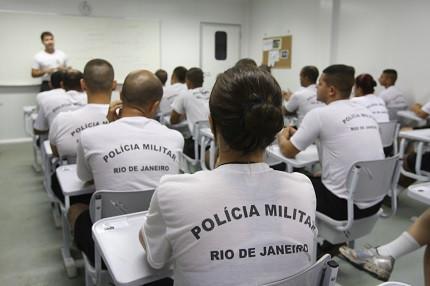 Edital de oficial da PM-RJ deve atrasar (Foto: Governo do Rio/ PMERJ)