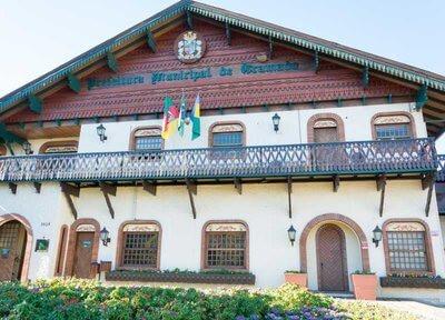 Prefeitura de Gramado (Foto: Divulgação)