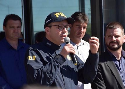 Diretor-Geral lutará por novos concursos (Foto: Divulgação/PRF)