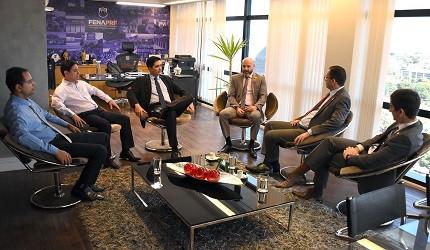 FenaPRF se reúne com diretor-geral (Foto: Reprodução/FenaPRF)