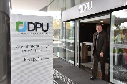Sede da DPU em Brasília