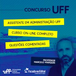 Curso para concurso UFF 2018