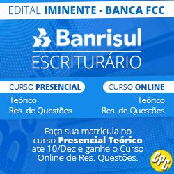 CURSO PARA CONCURSO BANRISUL